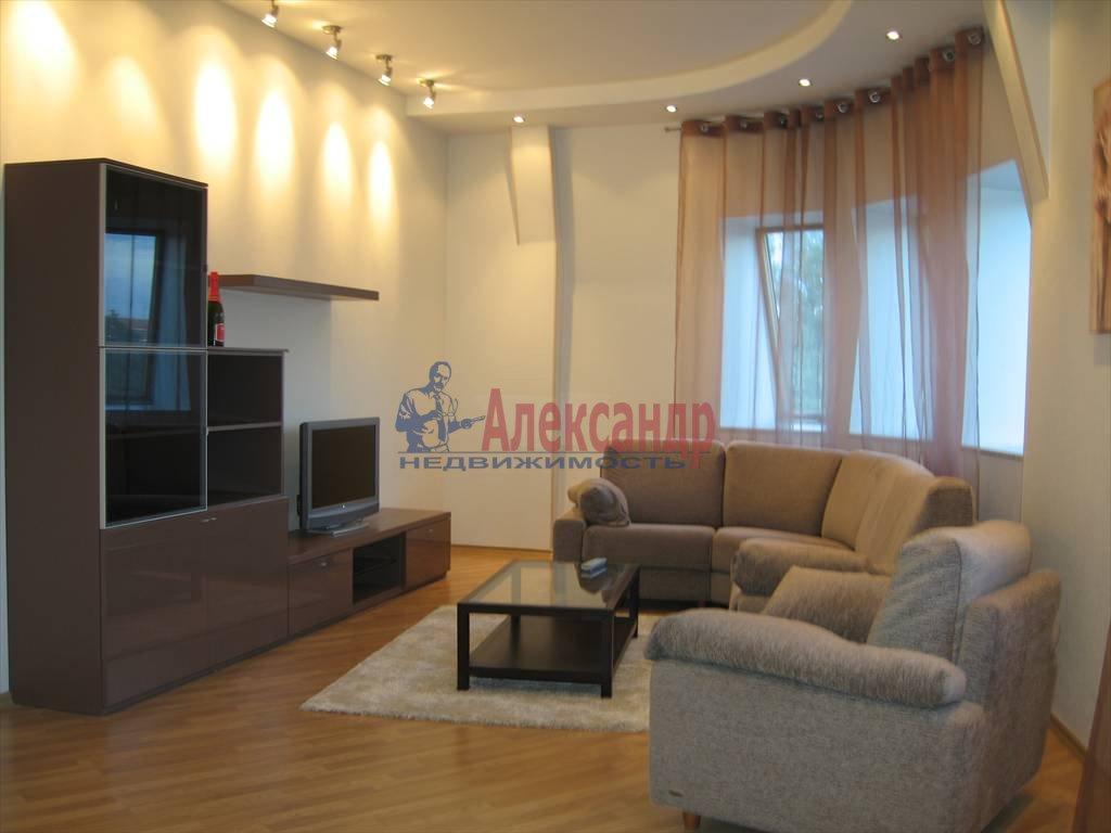 3-комнатная квартира (140м2) в аренду по адресу Константиновский пр., 1— фото 1 из 13