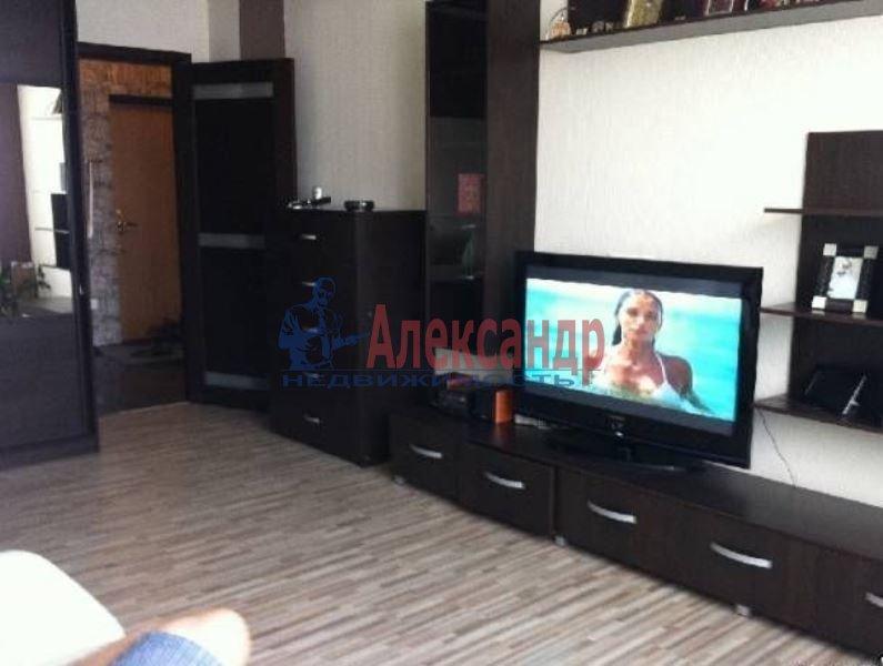 1-комнатная квартира (45м2) в аренду по адресу Петергофское шос., 17— фото 2 из 6