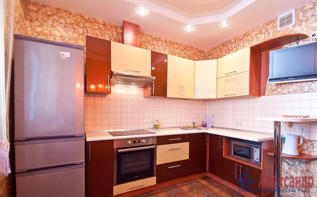 1-комнатная квартира (44м2) в аренду по адресу Розенштейна ул., 9— фото 2 из 2