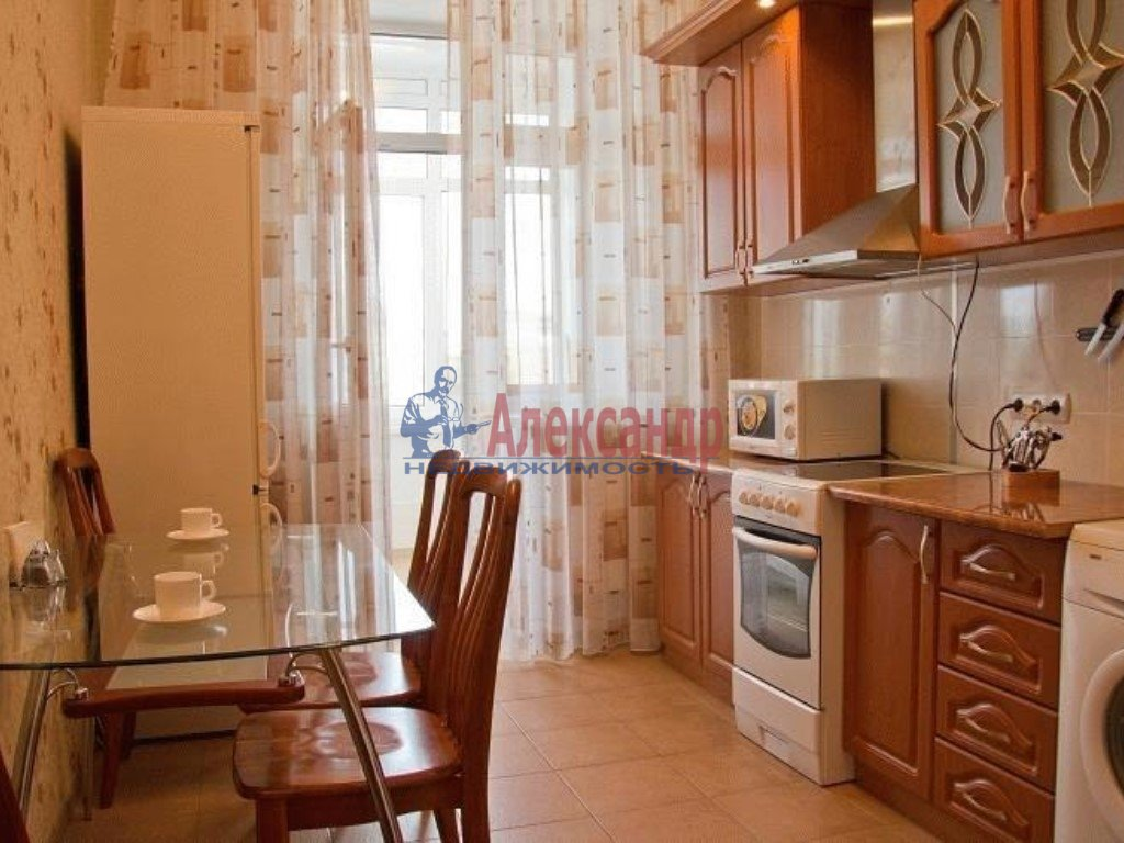 1-комнатная квартира (42м2) в аренду по адресу Богатырский пр., 49— фото 3 из 3