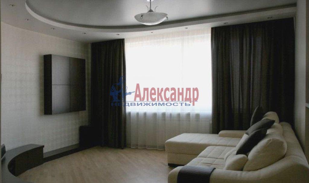 3-комнатная квартира (80м2) в аренду по адресу Дунайский пр., 7— фото 2 из 4