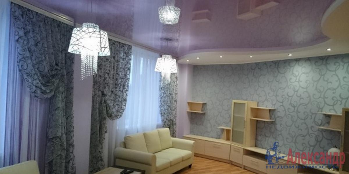 2-комнатная квартира (80м2) в аренду по адресу Воскресенская наб., 4— фото 1 из 4