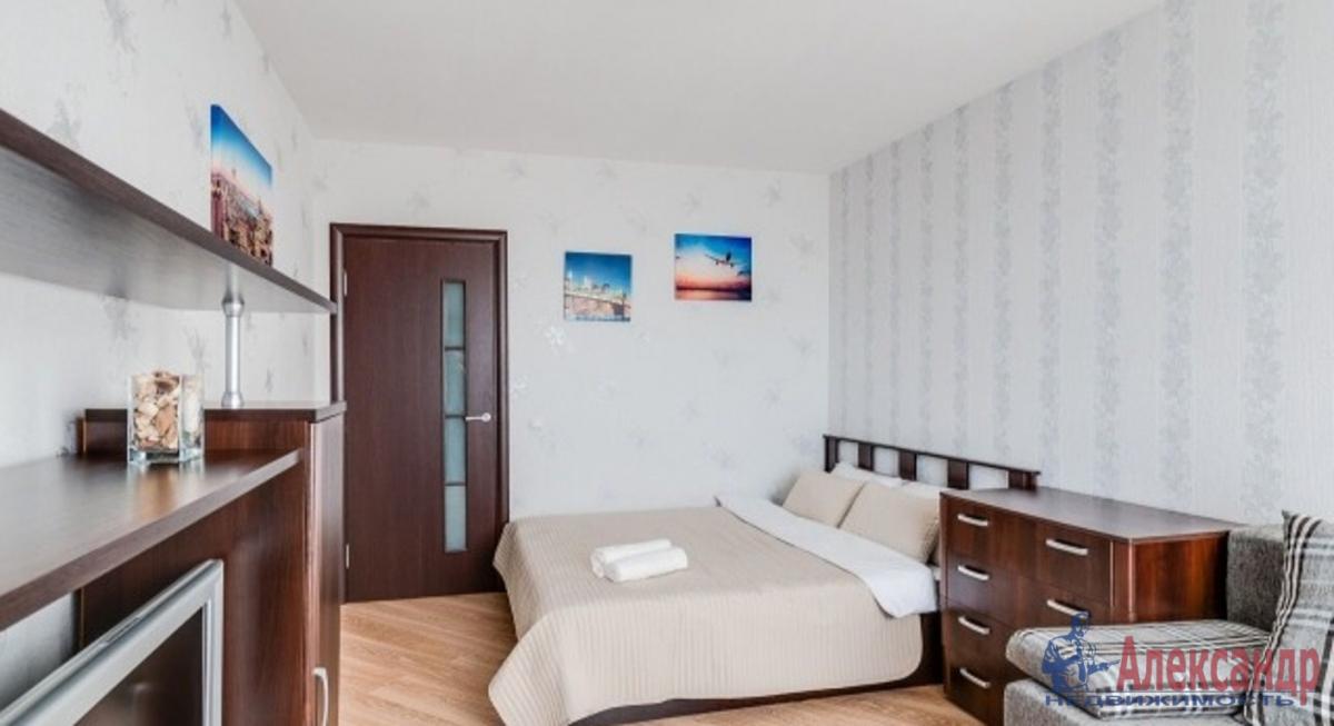 1-комнатная квартира (47м2) в аренду по адресу Земледельческая ул., 5— фото 2 из 3