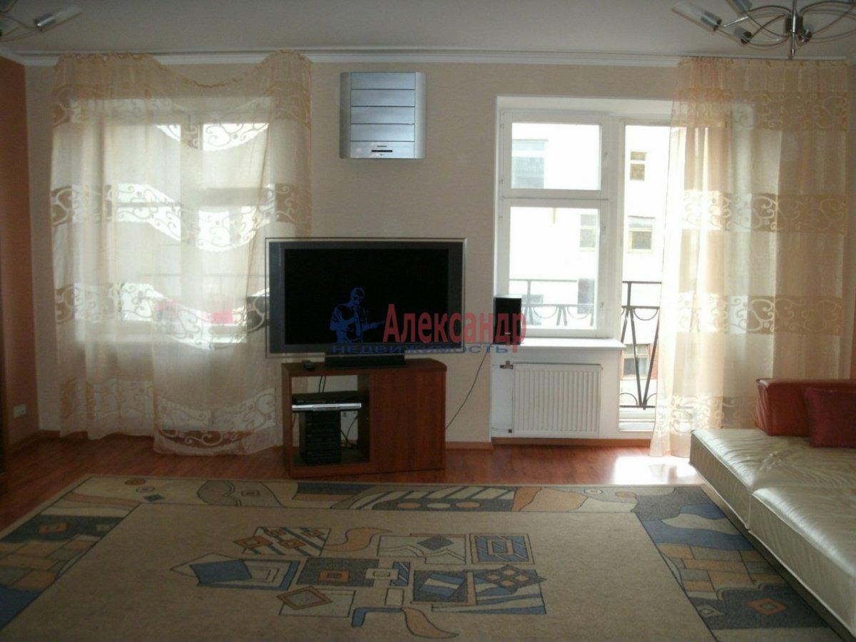 1-комнатная квартира (50м2) в аренду по адресу Гатчинская ул., 9— фото 1 из 3