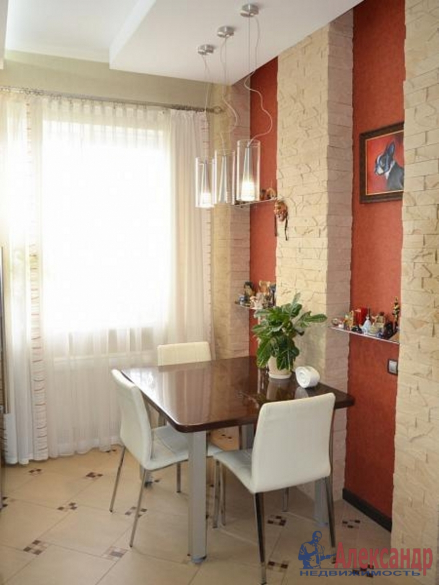 1-комнатная квартира (41м2) в аренду по адресу Кораблестроителей ул., 30— фото 4 из 4