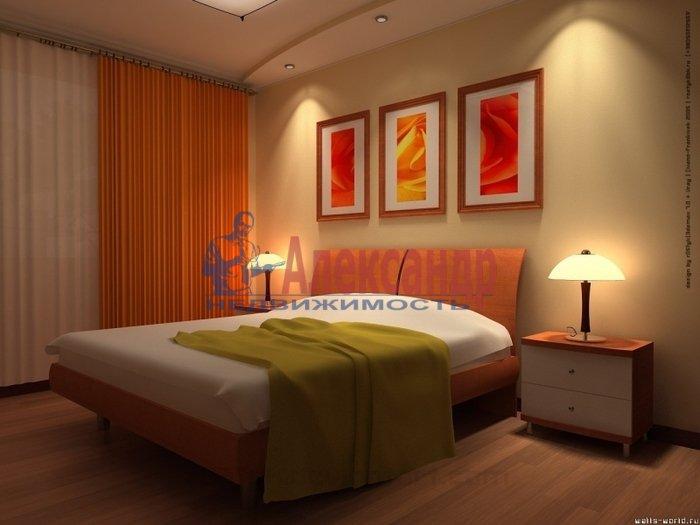 2-комнатная квартира (55м2) в аренду по адресу Дунайский пр., 34— фото 1 из 2