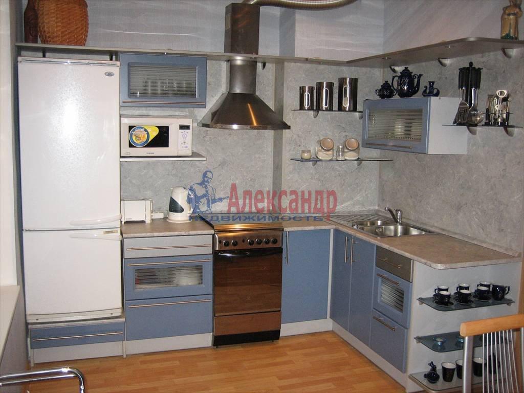 3-комнатная квартира (100м2) в аренду по адресу Поварской пер.— фото 4 из 6