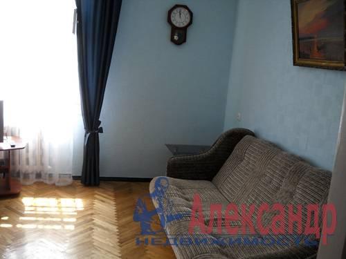 2-комнатная квартира (54м2) в аренду по адресу Новоизмайловский просп., 35— фото 5 из 7