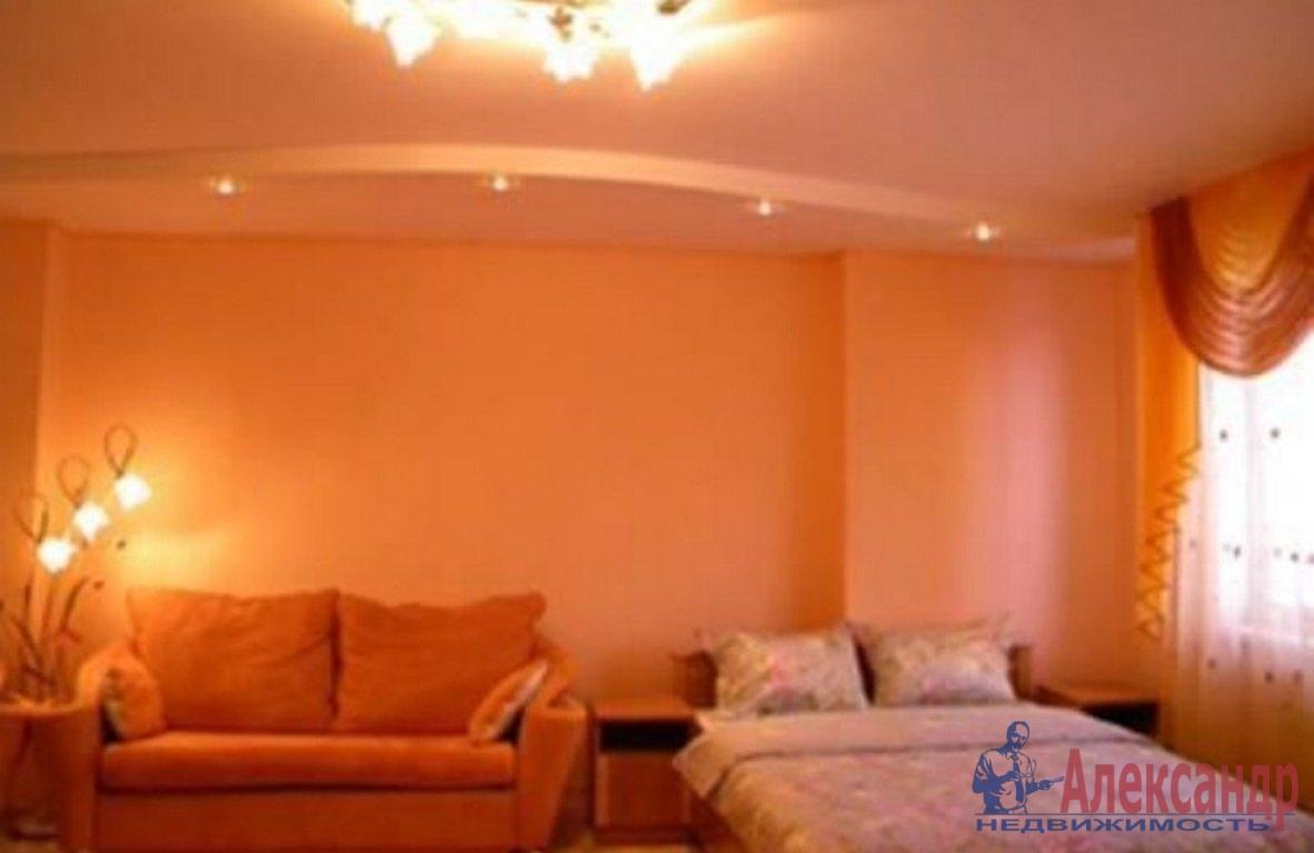 1-комнатная квартира (42м2) в аренду по адресу Большой пр., 97— фото 1 из 2