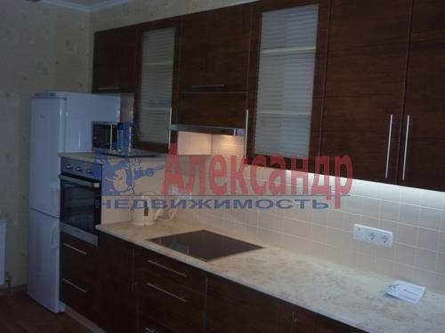 1-комнатная квартира (46м2) в аренду по адресу Приморский пр., 137— фото 2 из 3