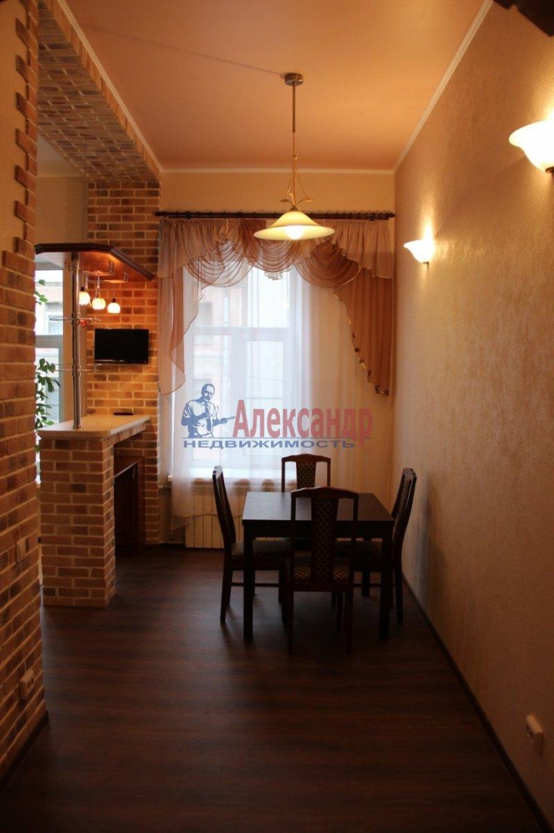 1-комнатная квартира (40м2) в аренду по адресу Большая Пушкарская ул., 27— фото 1 из 7