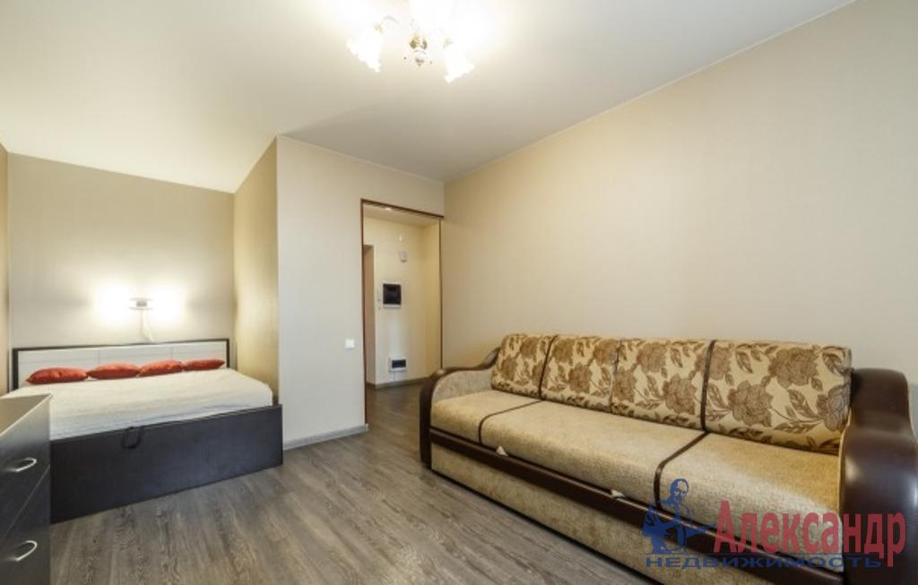1-комнатная квартира (42м2) в аренду по адресу Морская наб., 21— фото 1 из 2