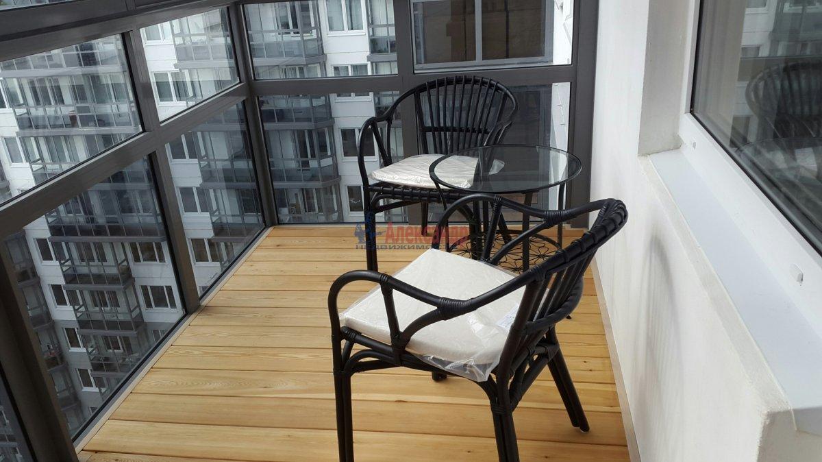 1-комнатная квартира (45м2) в аренду по адресу Мурино пос., Привокзальная пл., 3— фото 3 из 7