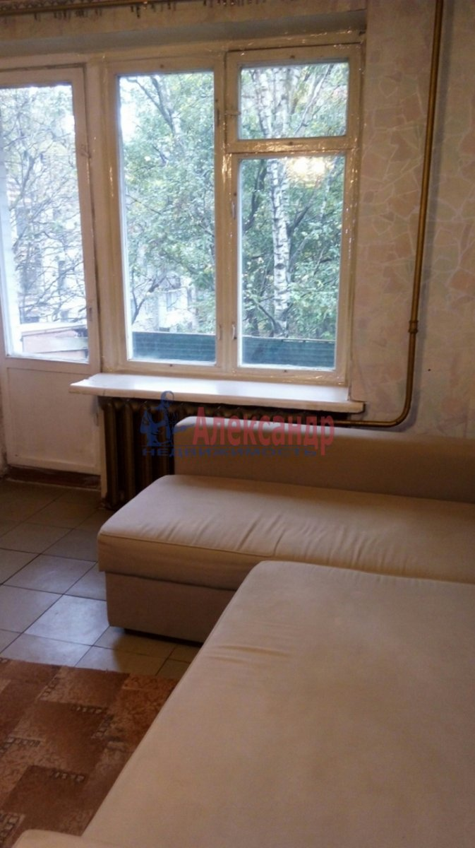 1-комнатная квартира (28м2) в аренду по адресу Гражданский пр., 21— фото 2 из 8