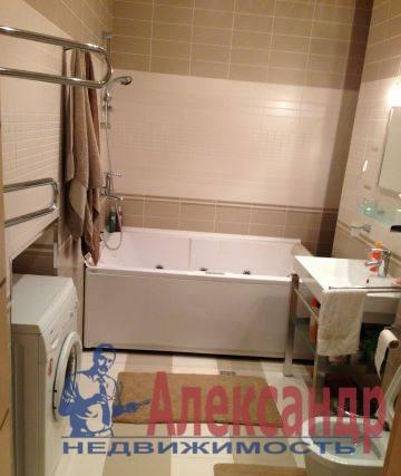 2-комнатная квартира (96м2) в аренду по адресу 8 линия В.О., 9— фото 4 из 5