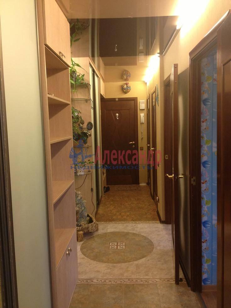 2-комнатная квартира (60м2) в аренду по адресу Испытателей пр., 6— фото 9 из 16
