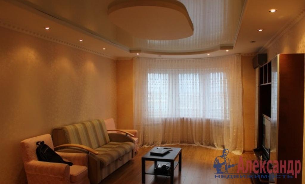 2-комнатная квартира (65м2) в аренду по адресу Михаила Дудина ул., 25— фото 1 из 2