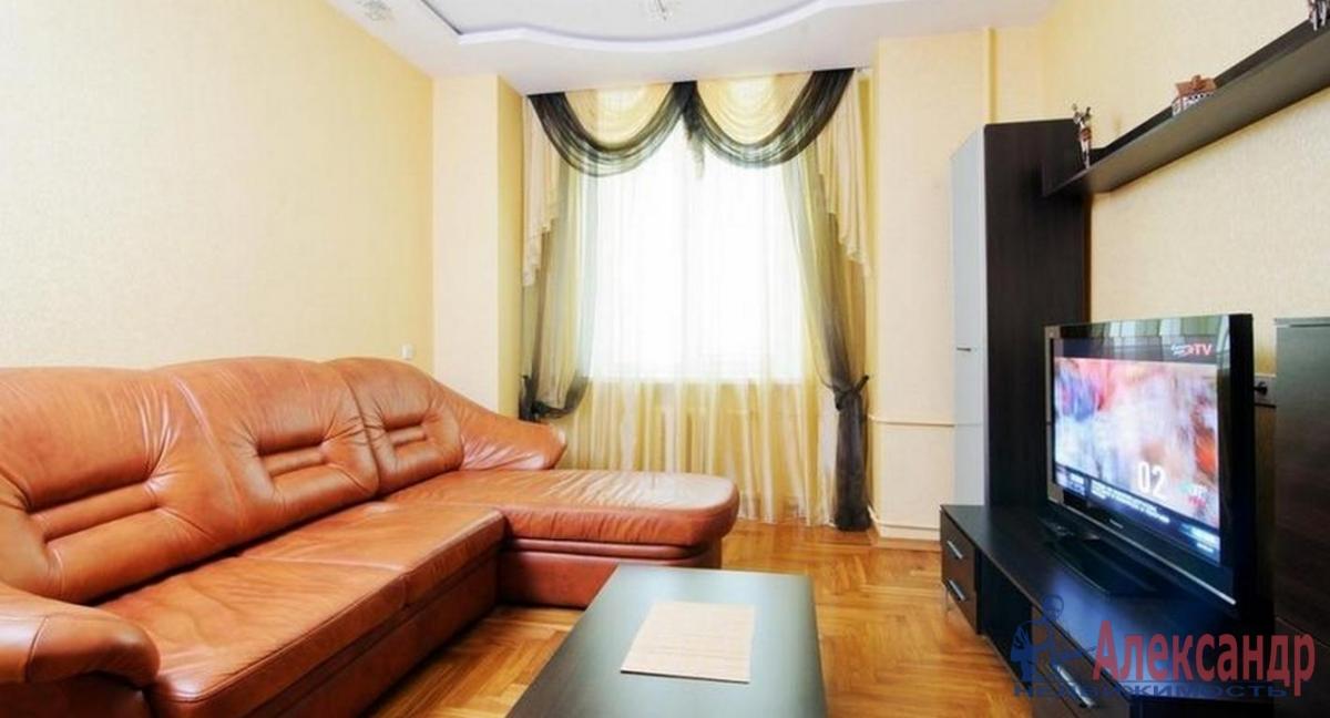 3-комнатная квартира (70м2) в аренду по адресу Московский просп., 191— фото 1 из 4