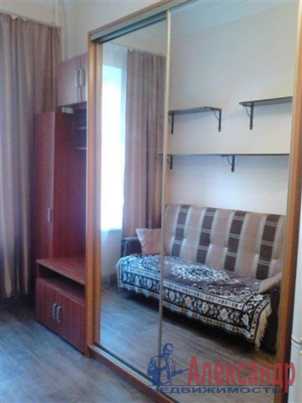 1-комнатная квартира (35м2) в аренду по адресу Ольги Берггольц ул., 29— фото 1 из 3