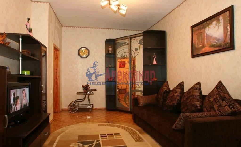 1-комнатная квартира (45м2) в аренду по адресу Науки пр., 19— фото 1 из 3