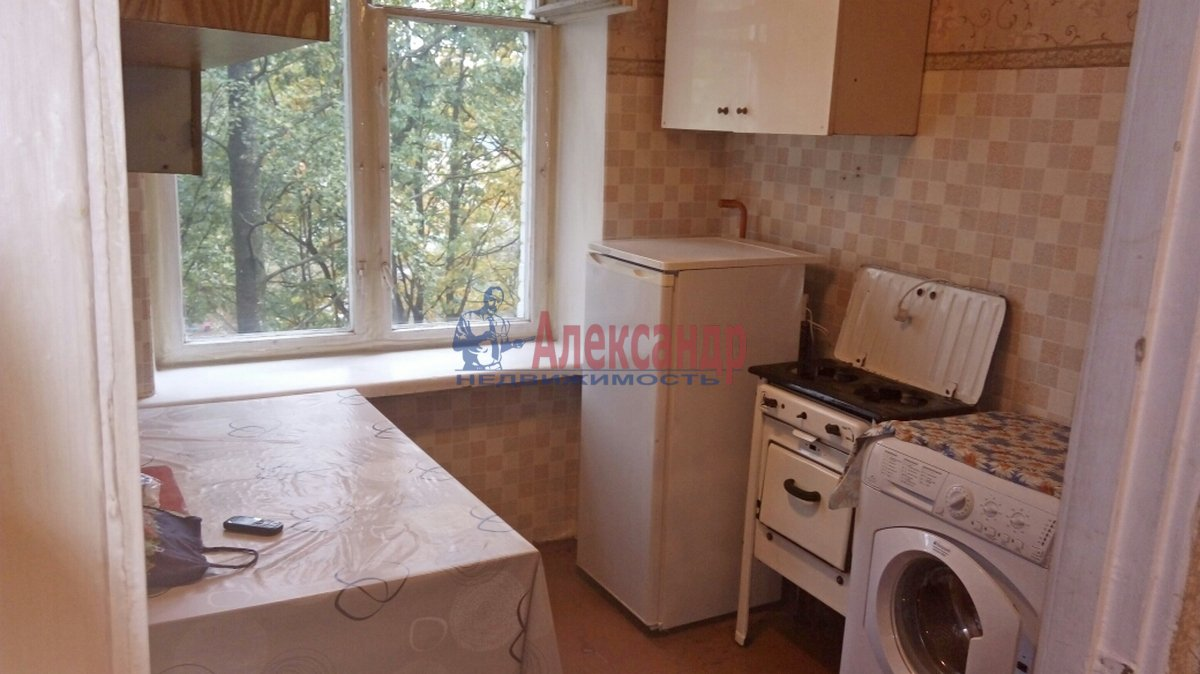 1-комнатная квартира (28м2) в аренду по адресу Гражданский пр., 21— фото 4 из 8