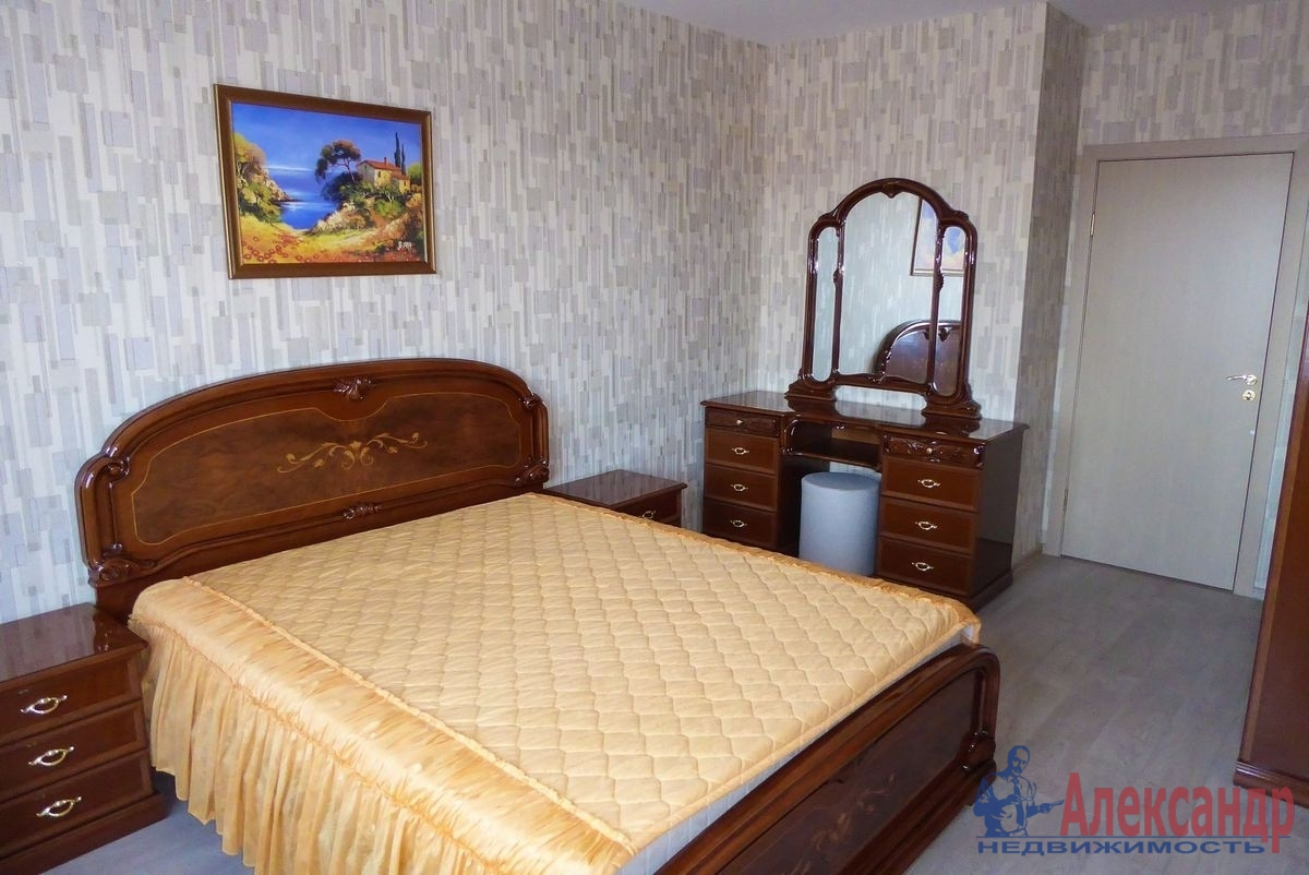 2-комнатная квартира (55м2) в аренду по адресу Гаккелевская ул., 27— фото 1 из 18