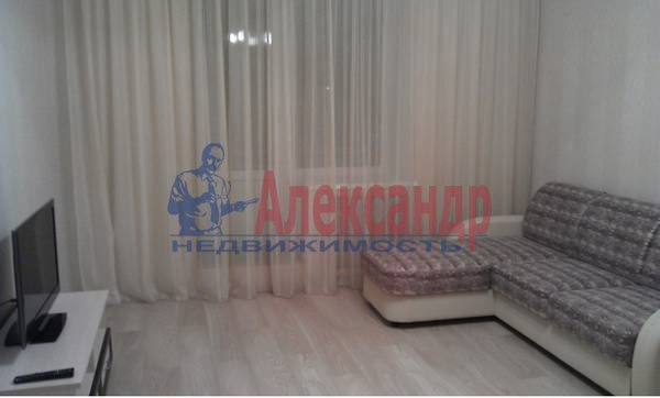 1-комнатная квартира (42м2) в аренду по адресу Комендантский пр.— фото 2 из 5