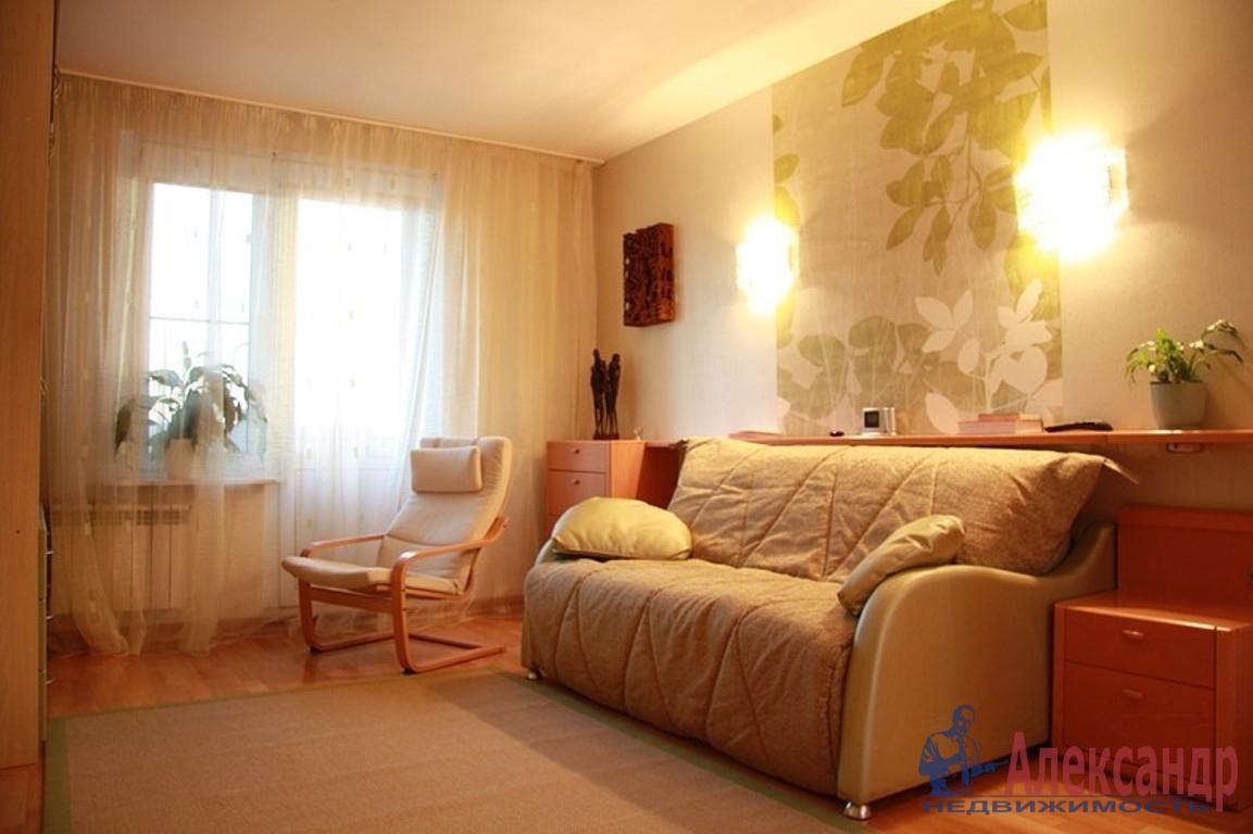 1-комнатная квартира (46м2) в аренду по адресу Бухарестская ул., 118— фото 1 из 3