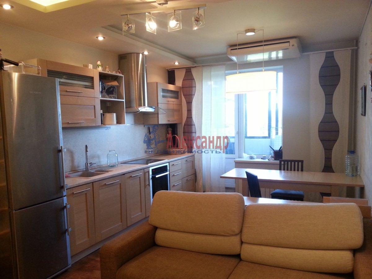 1-комнатная квартира (45м2) в аренду по адресу Варшавская ул., 19— фото 1 из 8
