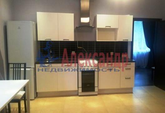 1-комнатная квартира (45м2) в аренду по адресу Долгоозерная ул., 5— фото 4 из 5