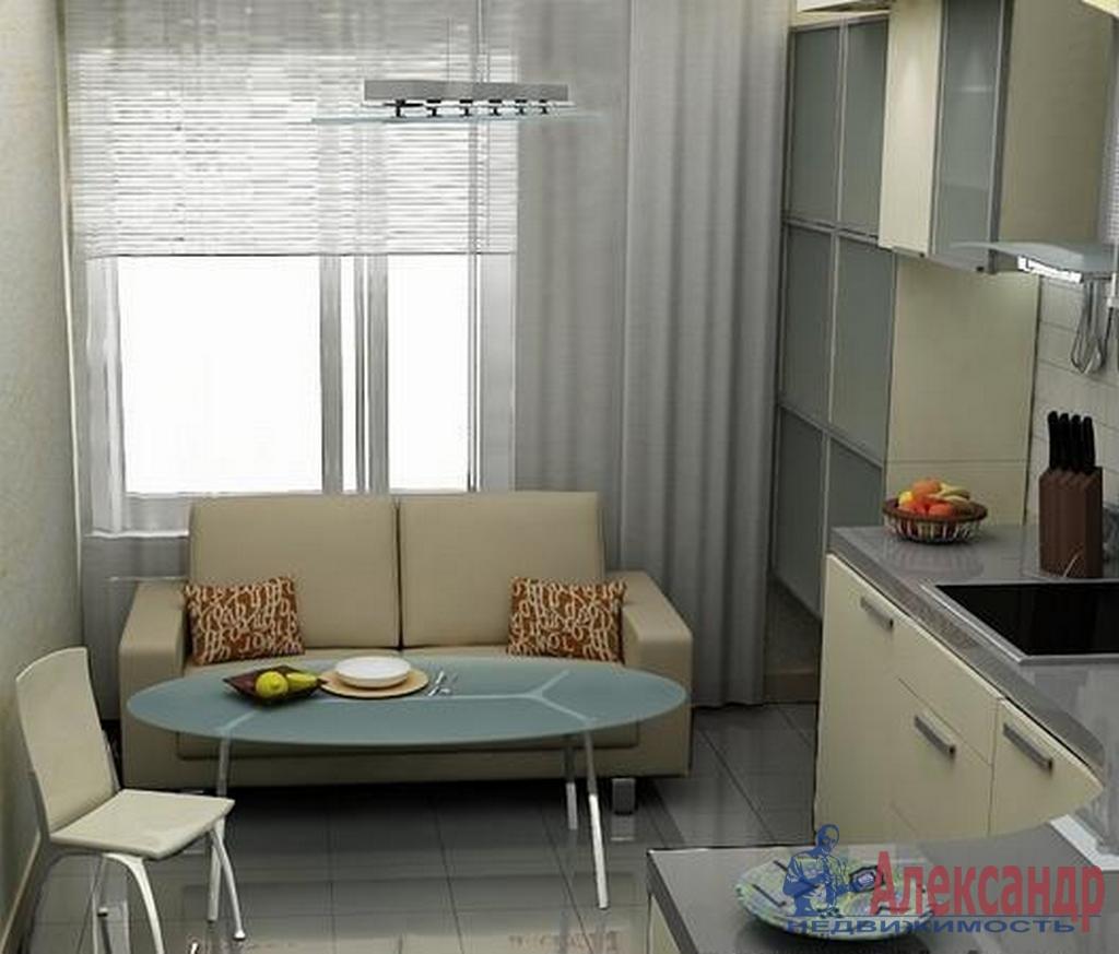 2-комнатная квартира (65м2) в аренду по адресу Дунайский пр., 28— фото 2 из 3