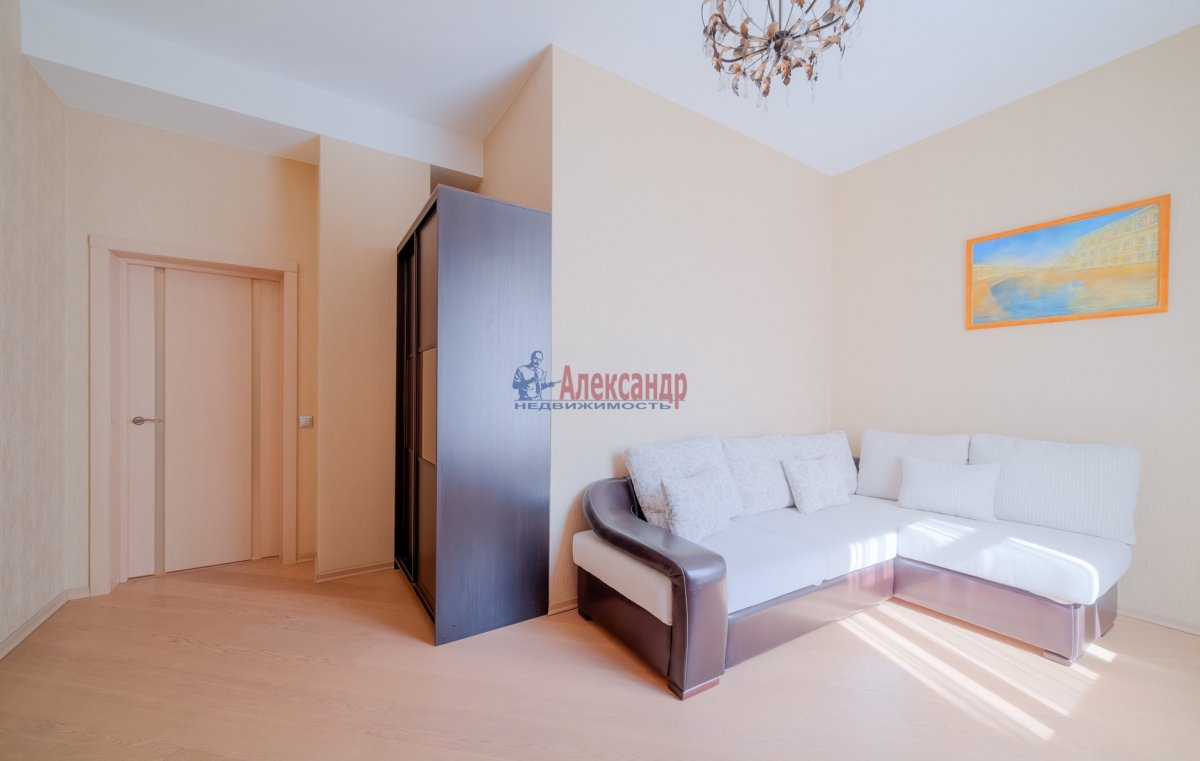 3-комнатная квартира (108м2) в аренду по адресу Введенская ул., 21— фото 2 из 25