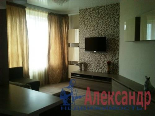 2-комнатная квартира (60м2) в аренду по адресу Ветеранов пр., 75— фото 2 из 5