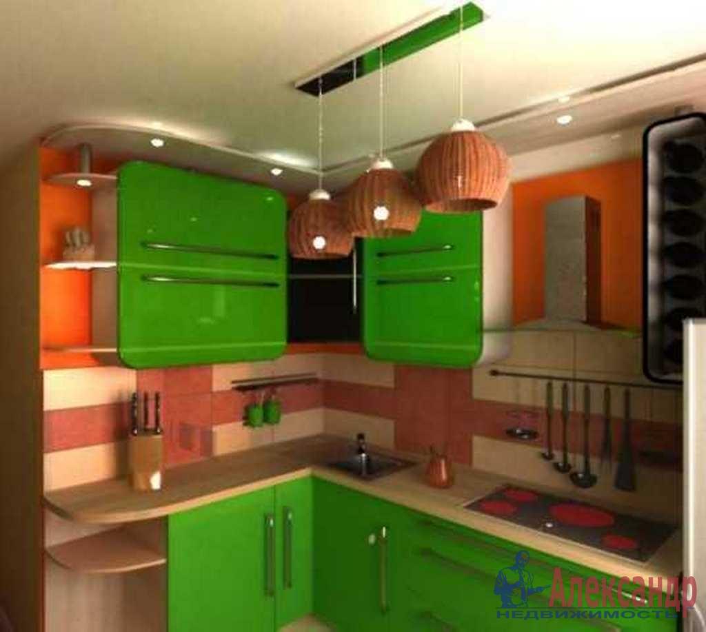 1-комнатная квартира (37м2) в аренду по адресу Пулковское шос., 14— фото 2 из 3