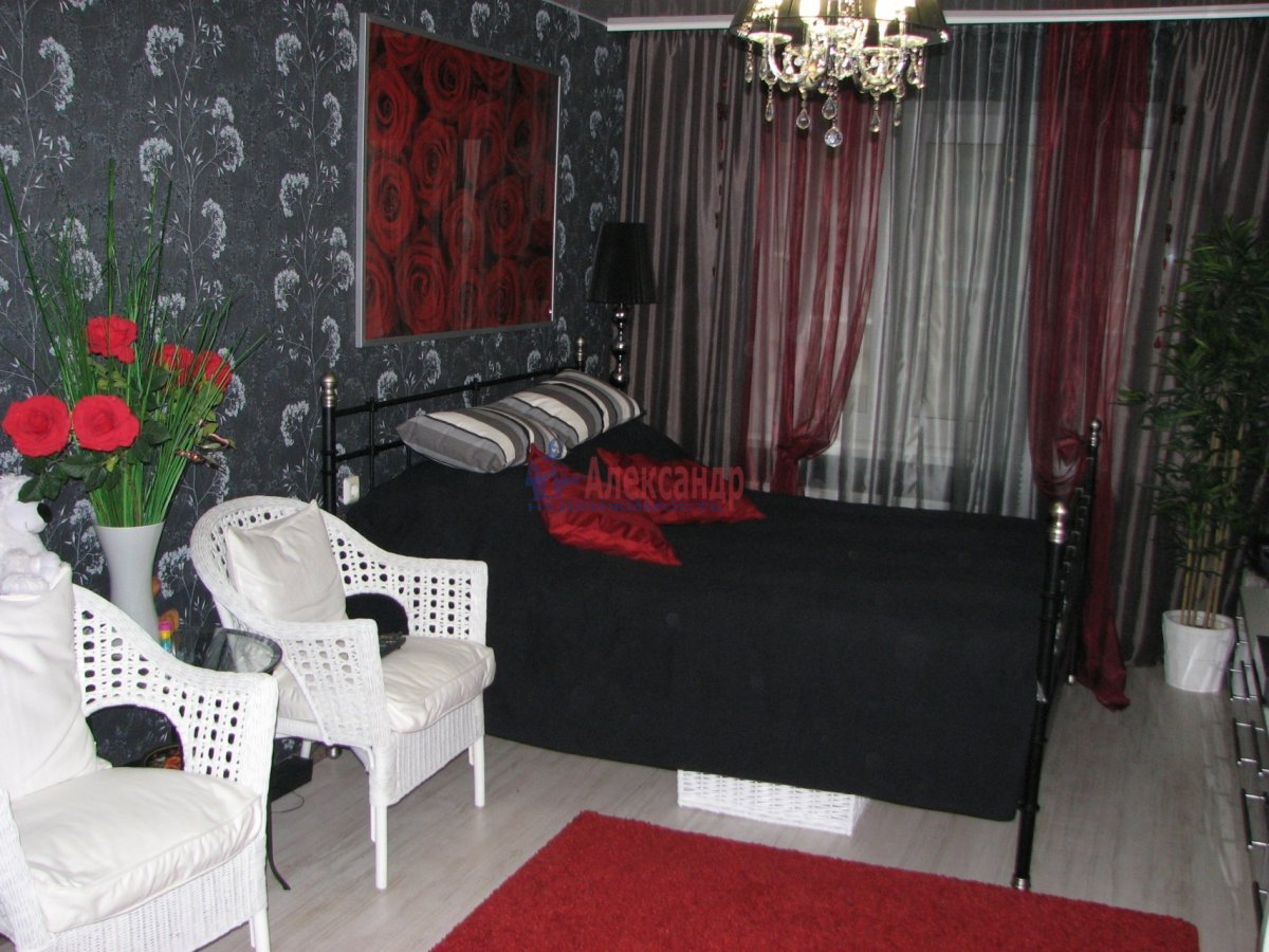 1-комнатная квартира (35м2) в аренду по адресу Южное шос., 55— фото 2 из 9