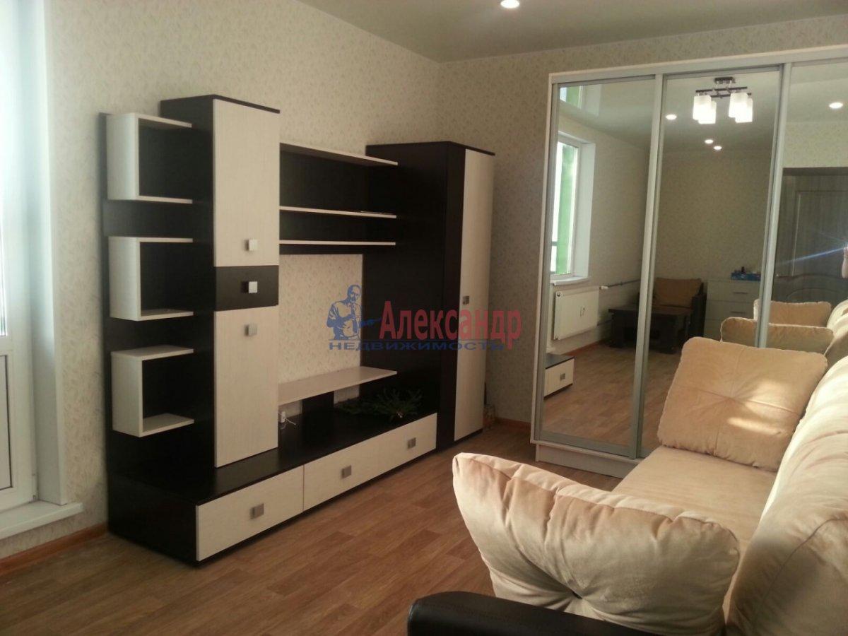 1-комнатная квартира (41м2) в аренду по адресу Мурино пос., Авиаторов Балтики пр., 5— фото 2 из 9