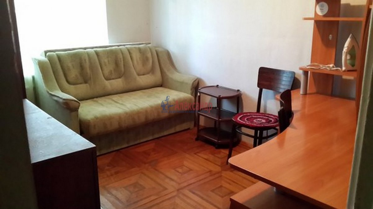 Комната в 2-комнатной квартире (48м2) в аренду по адресу Ленинский пр., 119— фото 2 из 3