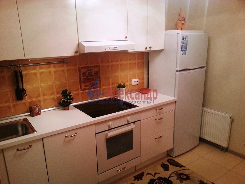1-комнатная квартира (41м2) в аренду по адресу Ленинский пр., 151— фото 3 из 13