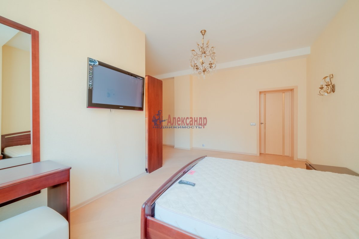 3-комнатная квартира (108м2) в аренду по адресу Введенская ул., 21— фото 5 из 25