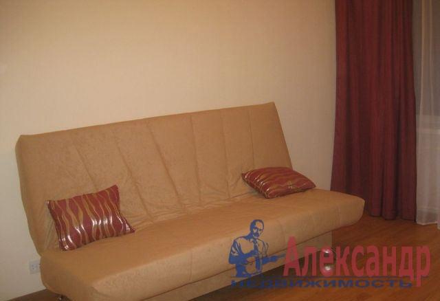 1-комнатная квартира (37м2) в аренду по адресу Ветеранов пр., 47— фото 1 из 6