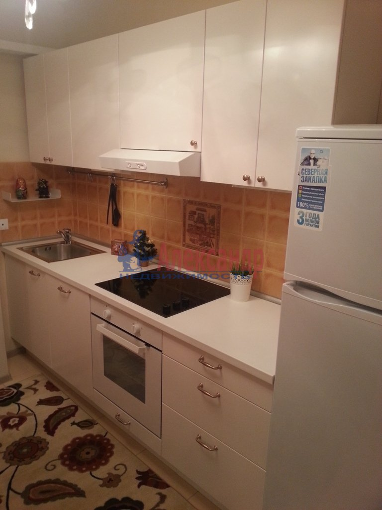 1-комнатная квартира (41м2) в аренду по адресу Ленинский пр., 151— фото 2 из 13