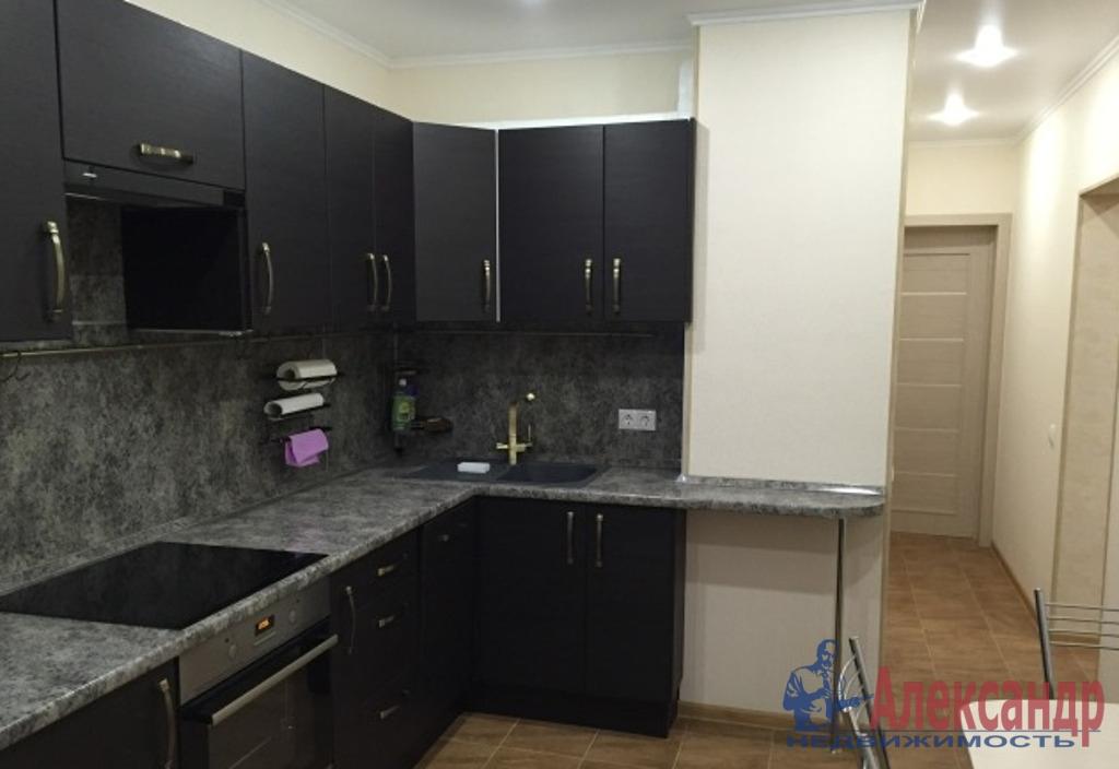 1-комнатная квартира (41м2) в аренду по адресу Кораблестроителей ул., 32— фото 1 из 2