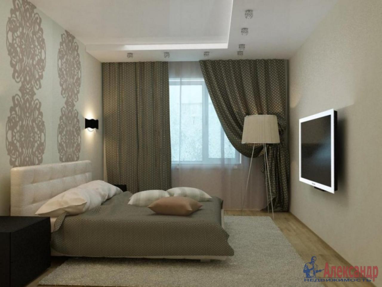 2-комнатная квартира (56м2) в аренду по адресу Типанова ул., 27— фото 3 из 4