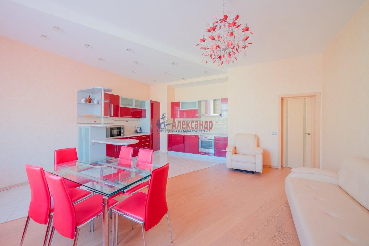 3-комнатная квартира (108м2) в аренду по адресу Введенская ул., 21— фото 8 из 25