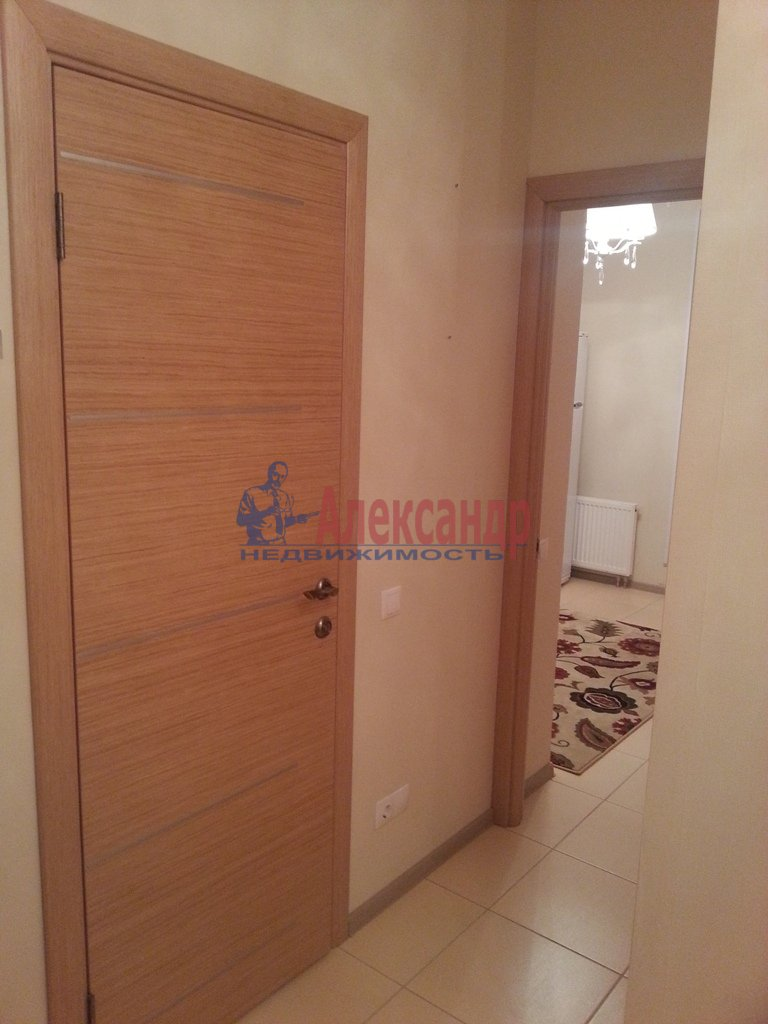1-комнатная квартира (41м2) в аренду по адресу Ленинский пр., 151— фото 9 из 13