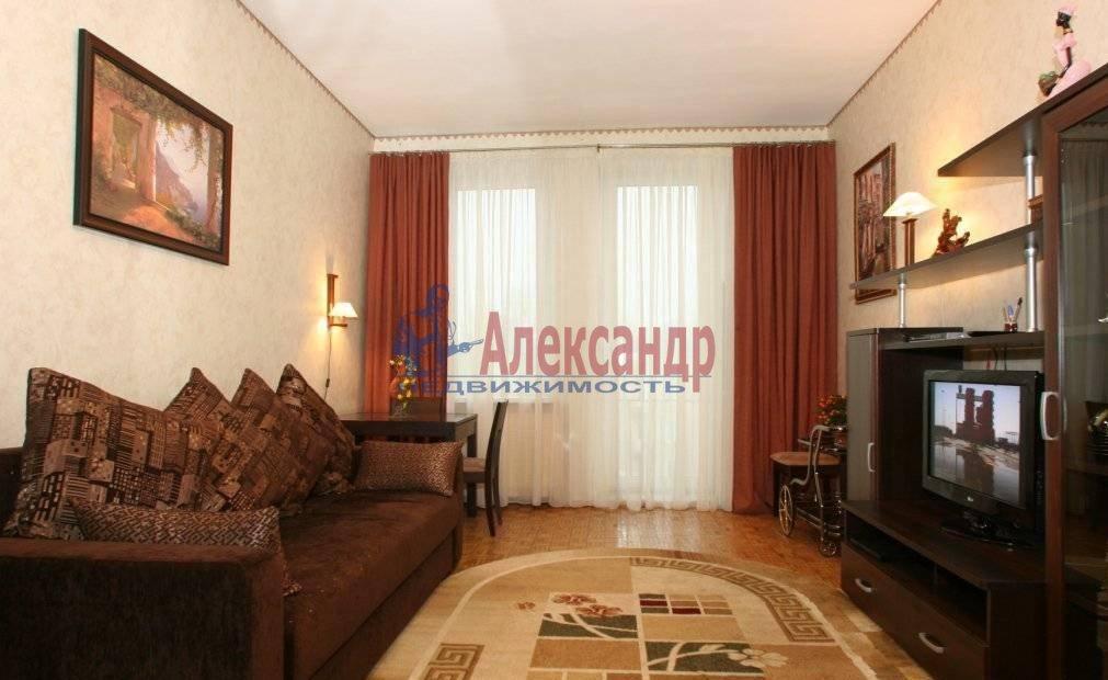 1-комнатная квартира (45м2) в аренду по адресу Науки пр., 19— фото 2 из 3