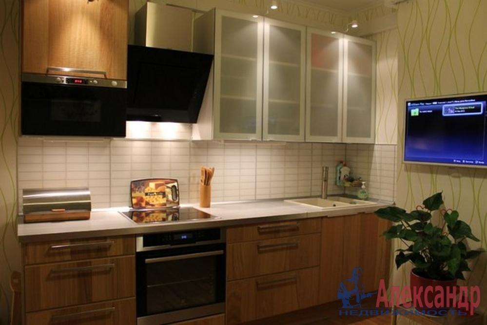 1-комнатная квартира (42м2) в аренду по адресу Ленинский пр., 55— фото 2 из 2
