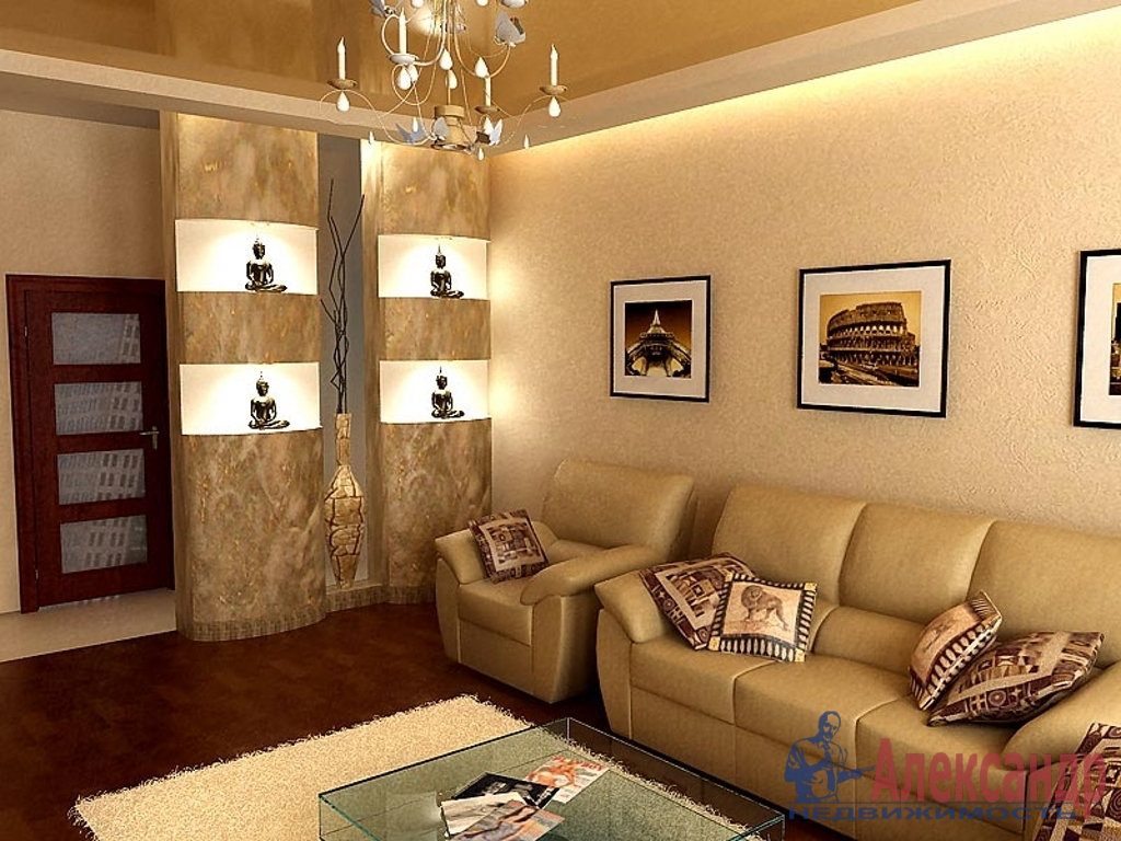 2-комнатная квартира (71м2) в аренду по адресу Розенштейна ул., 9— фото 1 из 3
