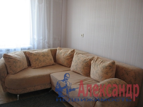 1-комнатная квартира (40м2) в аренду по адресу Комендантский пр., 13— фото 2 из 6