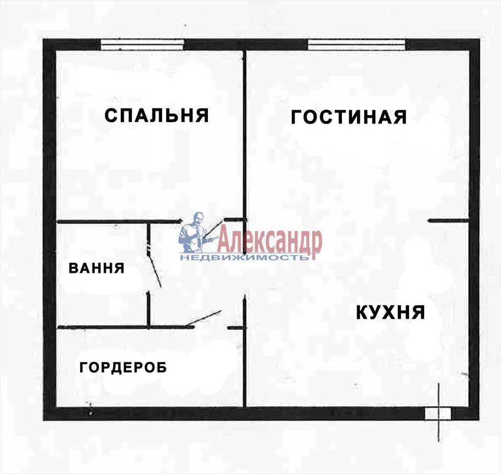 2-комнатная квартира (65м2) в аренду по адресу Невский пр., 88— фото 5 из 9